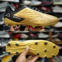 Sepatu Bola Specs Satu Gold Black