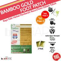 KOYO KAKI BAMBOO GOLD PEMBERSIH RACUN (harga 1 bungkus)