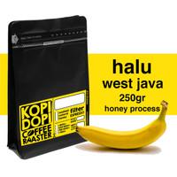 Kopi Arabika Halu Banana Honey 250 gram