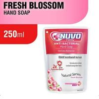Nuvo Sabun Cuci Tangan Hand Soap 250ml 250 ml Merah Pink Fresh Blossom