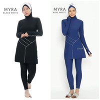 Baju Renang Wanita Muslimah Edora Myra Sport