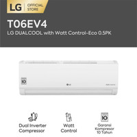LG T06EV4 AC DUAL COOL INVERTER 0.5PK