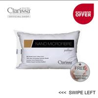 Bantal nano microfiber (bulu angsa sintetis) uk. 50x70 cm Clarissa