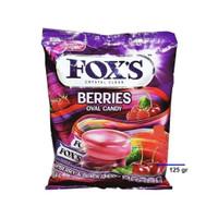 Permen Fox Foxs Fox's Berries Oval Candy 125gram 125 gram