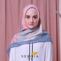 Hijab / Kerudung / Jilbab Segi Empat Premium Voal Scarf – LAK-04 - reguler