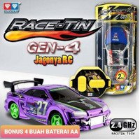 Mobil Remote Control RC Auldey Race Tin Gen 4 2.4 GHZ Original New