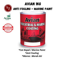 Cat Lunas Kapal - Marine Paint Antifouling Avian Solvent Based - 1 kg