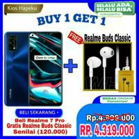 Realme 7 Pro Ram 8GB/128GB | 65W Superdart Charging Garansi Resmi - Silver NoBonus
