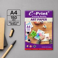Kertas e-Print A4 ART PAPER 150gsm