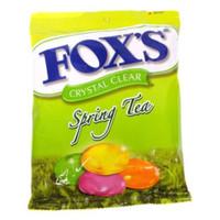 Permen Fox Foxs Fox's Spring Tea Oval Candy 125gram 125 gram