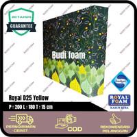 ROYAL FOAM Kasur Busa Royal d25 no.1 size 200 x 180 x 15 cm