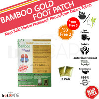 KOYO KAKI BAMBOO GOLD - BAMBO FOOT PATCH (harga 1 bungkus)
