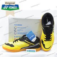 Sepatu Badminton Yonex Court King - Yellow Black