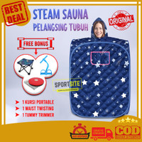 Steam Sauna Room Portable Alat Pelangsing Tubuh Praktis Multifungsi