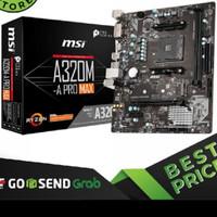MSI A320M-A Pro MAX (AM4 AMD Promontory A320 DDR4 USB3.2 SATA3
