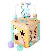 Baby Busy Box Wooden Educational Toy - Mainan Edukasi Kayu