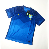 Jersey Brazil AWAY 2021 Negara Baju Futsal Kaos Bola Pria Grade Ori