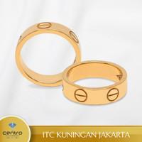 Cincin Emas Wanita 9038 | Centro Jewellery