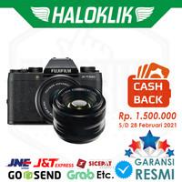 CASHBACKFujifilm XT100 X-T100 15-45mm + XF 35mm F1.4 Mirrorless Camera