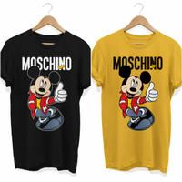Kaos / T-Shirt Pria dan Wanita Mickey Mouse
