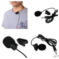 MIC CLIP ON KLIP Microphone MINI jack 3.5mmPC Notebook LAPTOP HP SMULE