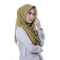 Zoya Aisha Plain - Hijab Kerudung Segi Empat