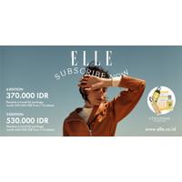 Paket Berlangganan Majalah Elle Indonesia 6 Edisi