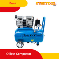 Benz Mesin Kompresor Angin Oilless Compressor 24L BZ-8554