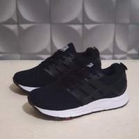 Sepatu Anak Sekolah Adidas Hitam Premium Lengkap Dengan Box