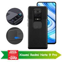 Casing Xiaomi Redmi Note 9 Pro Slide Protector Lens Camera Case Cover
