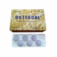 OSTEOCAL TABLET KUNYAH KALSIUM RASA ANGGUR 1 BLISTER ISI 6 TAB KUNYAH