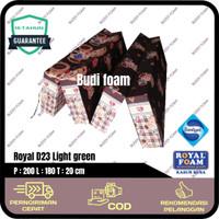 ROYAL FOAM Kasur Lipat Busa Royal no.1 size 200 x 180 x 20 cm