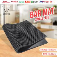 bar mat bartender rubber anti slip / tatakan gelas / alas meja dapur