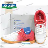 Sepatu Badminton Yonex Legend King 68 - White Red