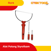 Ikura Alat Potong Gabus Pemotong Styrofoam 3 in 1 Hot Wire Cutter