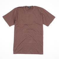 Kaos Polos Cotton Bambu Coklat - Premium Quality