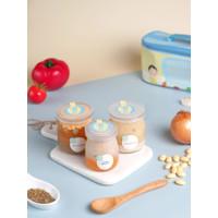 Monthly Plan - Grouu Gourmet Baby Food MPASI Catering - Stage1-6Bulan+