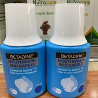 Betadine 100ml obat kumur / Betadin gargle 100ml