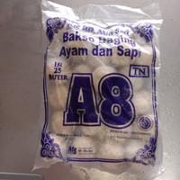 Bakso A8 ( Bakso Ayam dan Sapi) 25 butir 900 gram