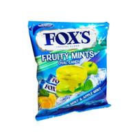 Permen Fox Foxs Fox's Fruity Mints Oval Candy 125gram 125 gram