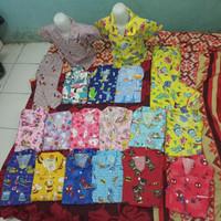 baju tidur anak 2-3 tahun size L bahan polymicro size M,l,xl