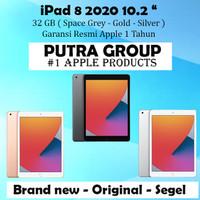 (RESMI) iPad 8 2020 10.2 inch 32GB 32 WIFI Cellular Cell IBOX - Garansi Inter, WIFI Space Grey