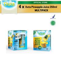 Multipack Duta Pineapple Juice 250ml x4