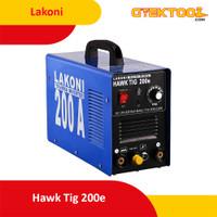 Lakoni Hawk Tig 200E Mesin Las Tig Argon Stainless