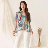 BM - Tropical Tshirt Baju Kemeja Wanita Casual BTC
