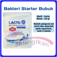 Bakteri Bacteri Starter LACTO BUBUK Plus Prebiotic Aquarium Aquascape