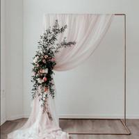 tiang dekorasi besi backdrop dekorasi lamaran backdrop lamaran