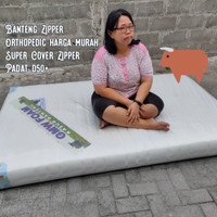 Kasur Busa Orthopedic ExCover Hard Foam Rebonded 120 x 200 Banteng GMW
