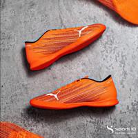 Sepatu Futsal Puma Ultra 4.1 IT - Shocking Orange 106096-01 Original
