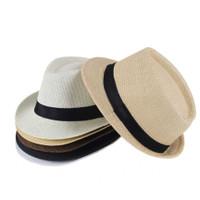 Topi Laken Jazz Vintage Fedora Pria dan Wanita